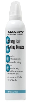 Strong Hair Styling Mousse 300 ml