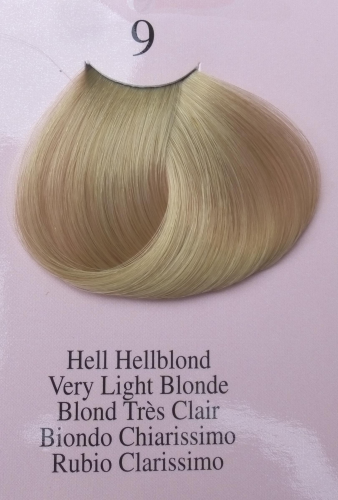 Variation Color 1 + 1,5 Hell Hellblond, 9